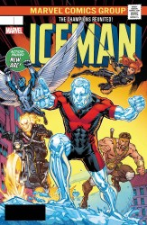 Marvel - Iceman # 6 Ryan Lenticular Homage Variant