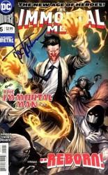 DC - Immortal Men # 5 Tyler Kirkham İmzalı Sertifikalı