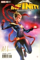 Marvel - Infinity Countdown # 1 Adi Granov Variant Adi Granov İmzalı Sertifikalı