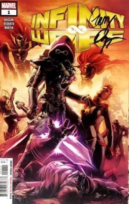 Infinity Wars # 1 Gerry Duggan İmzalı Sertifikalı