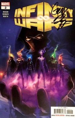 Infinity Wars # 2 Gerry Duggan İmzalı Sertifikalı