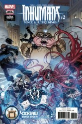 Marvel - Inhumans Once & Future Kings # 2