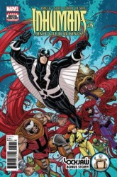 Marvel - Inhumans Once & Future Kings # 5