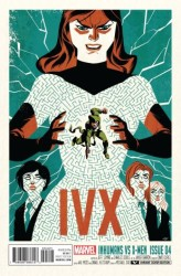 Marvel - Inhumans vs X-Men # 4 Michael Cho Variant