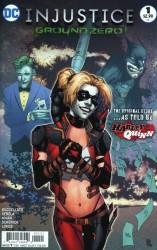 DC - Injustice Ground Zero # 1 Variant