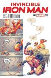 Marvel - Invincible Iron Man #1(2015) Putri Pary Variant