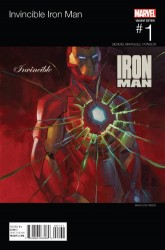 Marvel - Invincible Iron Man # 1 (2015) Stelfreeze Hip Hop Variant