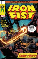 Marvel - Iron Fist # 73 Perkins Lenticular Homage Variant