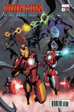 Iron Man Hong Kong Heroes # 1 Crosby Variant