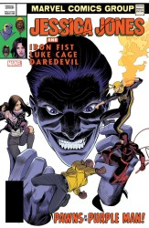 Marvel - Jessica Jones # 13 Mora Lenticular Homage Variant