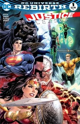 DF Justice League # 1 Exclusive Variant