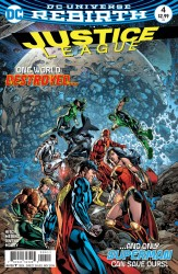 DC - Justice League # 4