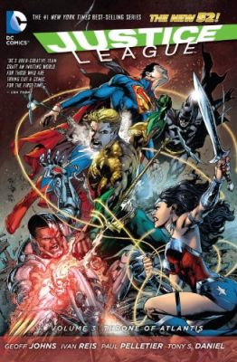 Justice League (New 52) Vol 3 Throne of Atlantis TPB