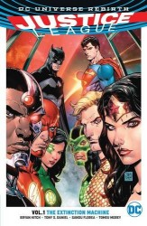DC - Justice League (Rebirth) Vol 1 The Extinction Machines TPB