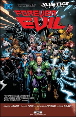 Justice League Yeni 52 Forever Evil