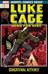 Marvel - Luke Cage # 166 Johnson Lenticular Homage Variant