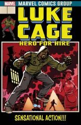 Marvel - Luke Cage # 166 Johnson Lenticular Homage Variant