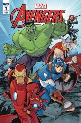 IDW - Marvel Action Avengers # 1