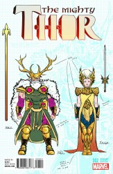 Marvel - Mighty Thor #2 Dauterman Design Variant