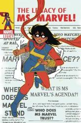 Marvel - Ms Marvel #25 Wyatt Lenticular Variant