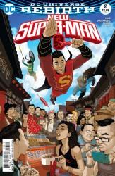 DC - New Super-Man # 2 Variant