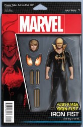 Marvel - Power Man and Iron Fist # 1 Action Figure Iron Fist Variant