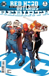 DC - Red Hood And The Outlaws Rebirth # 1 Variant