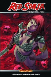Dynamite - Red Sonja She-Devil Vol 13 The Long March Home TPB