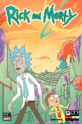 Rick and Morty Sayı 2 A Kapak