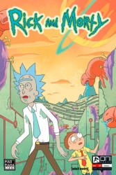 Marmara Çizgi - Rick and Morty Sayı 2 A Kapak