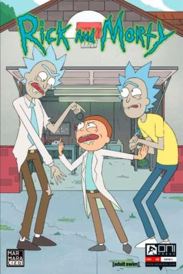 Rick and Morty Sayı 3 A Kapak