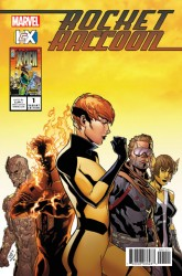 Marvel - Rocket Raccoon # 1 NOW ICX Variant
