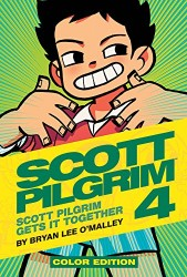 Oni Press - Scott Pilgrim Color Vol 4 Scott Pilgrim Gets it Together HC