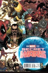 Marvel - Secret Wars #8 Bianchi Connecting Variant