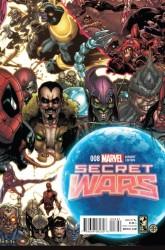 Marvel - Secret Wars # 8 Bianchi Connecting Variant