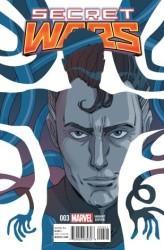 Marvel - Secret Wars # 3 Sauvage Variant