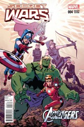 Marvel - Secret Wars # 4 Agwengers Samnee Variant
