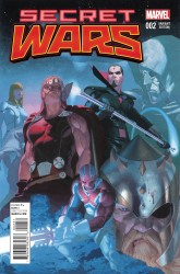 Marvel - Secret Wars # 2 Ribic Variant