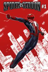 Marvel - Spider-Geddon # 1 Nakayama PS4 Spider-Man Variant