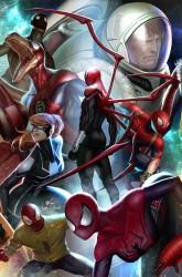 Marvel - Spider-Geddon # 4 In-Hyuk Lee Connecting Variant