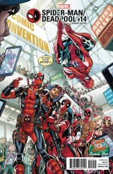 Marvel - Spider-Man Deadpool # 14 Nauck DCD C2C Variant