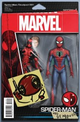 Marvel - Spider-Man/Deadpool #1 Christopher Action Figure Variant
