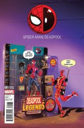 Marvel - Spider-Man/Deadpool # 1 Action Figure Photo Variant