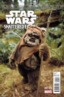 Star Wars Shattered Empire # 1 Movie Variant