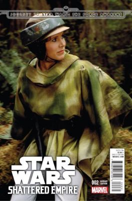 Star Wars Shattered Empire # 2 Movie Variant