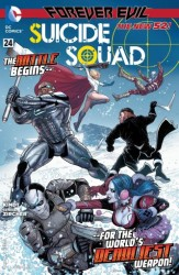 DC - Suicide Squad (New 52) # 24