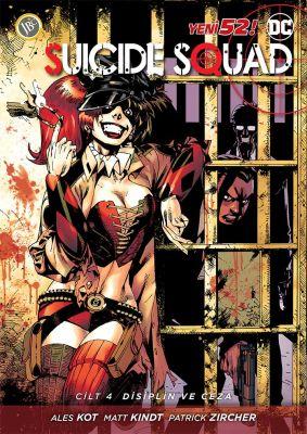 Suicide Squad (Yeni 52) Cilt 4 Disiplin ve Ceza