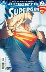 DC - Supergirl # 2 Variant
