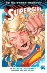 DC - Supergirl (Rebirth) Vol 1 Reign of the Cyborg Superman TPB