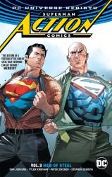 DC - Superman Action Comics (Rebirth) Vol 3 Men of Steel TPB